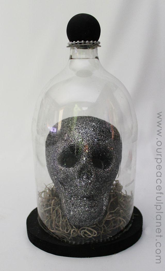Specimen Jar Halloween Decor Our Peaceful Planet