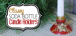 DIY Candle Holders From Plastic Soda Bottles 12b