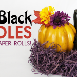 Eerie Black Candles from TP Rolls!