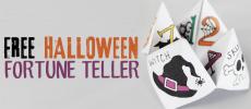 Free Halloween Cootie Catcher Template