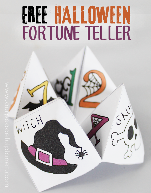 free halloween cootie catcher template. Black Bedroom Furniture Sets. Home Design Ideas