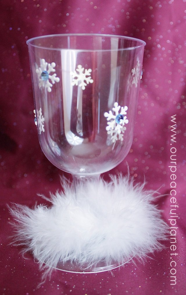 Christmas Wine Goblets