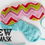 No Sew Soft Sleeping Masks (plus sewn version)