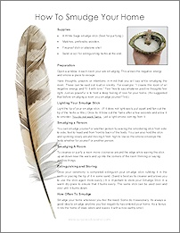 Cleanse And Bless Your Home With White Sage