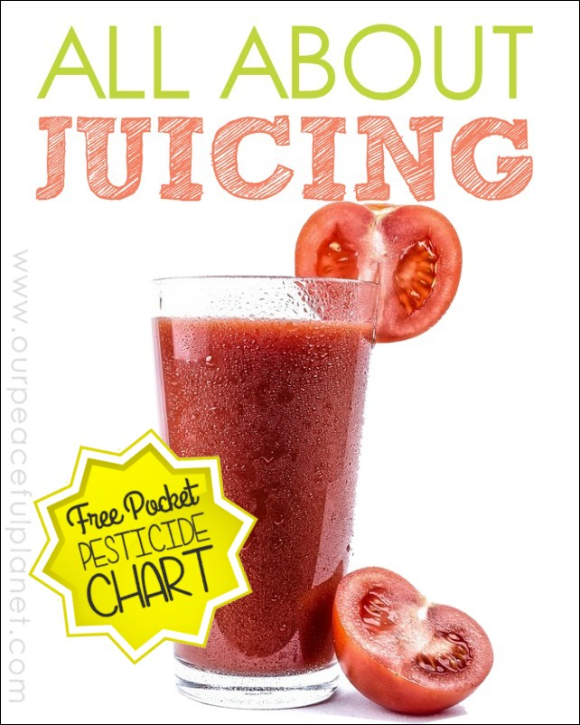 All About Juicing and Free Chart