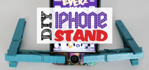 DIY iPhone Stand FE