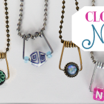 Clothespin Spring Necklaces