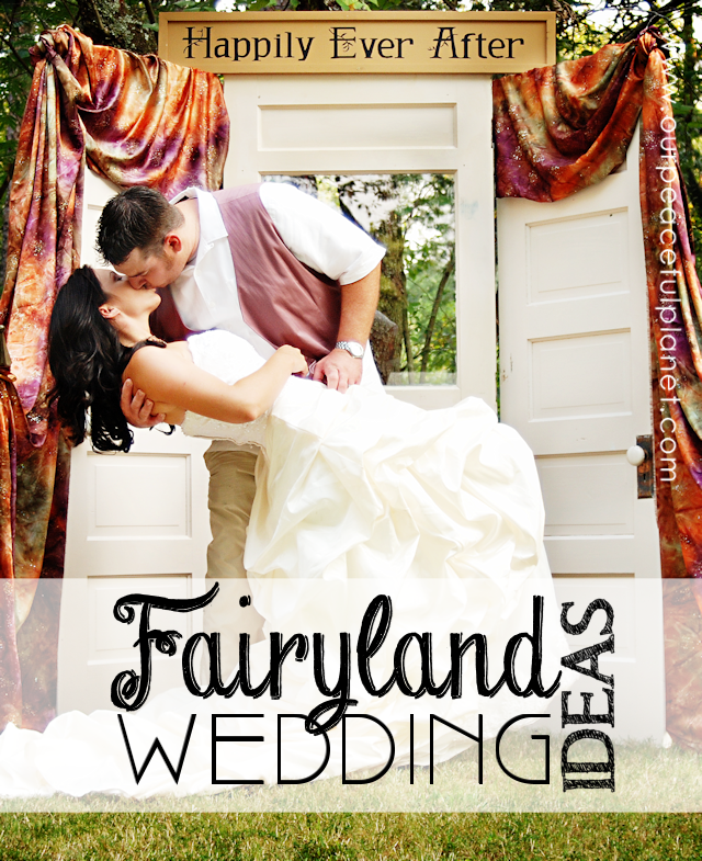 If you want to make your special day extra unique and magical read up on our ideas for a Fairyland Wedding! We've got beautiful photos of an actual Fairyland Wedding plus lots of links and tips!