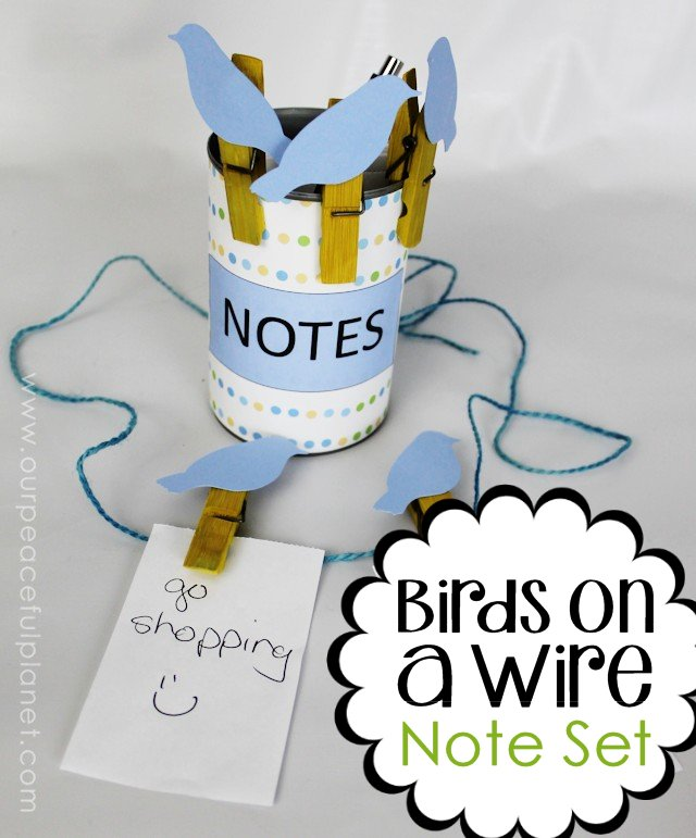 Birds on a Wire Note Set ·