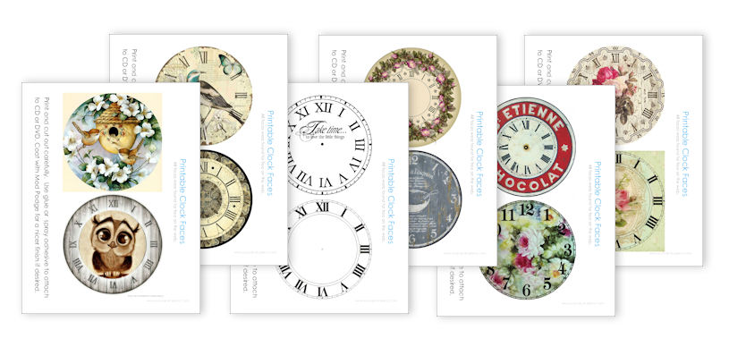 graphic about Clock Faces Printable referred to as free of charge printable clocks -