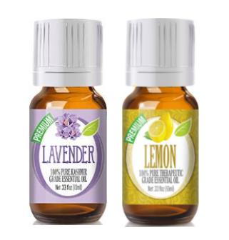 Lemon and Lavendar Oil