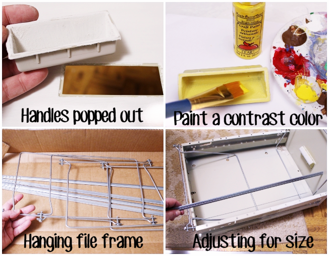 Organize Fabric with a File Cabinet! ·