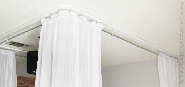... Turn your bedroom into a magical retreat with our simple and inexpensive DIY bed canopy. blank630x20 & Make an Inexpensive DIY Bed Canopy | Our Peaceful Planet