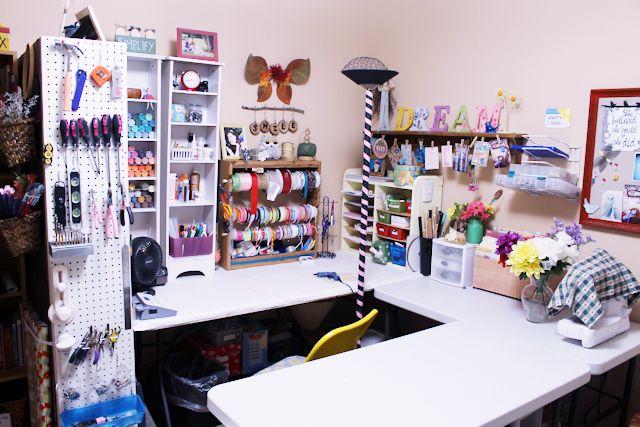 The Most Creative Craft Room Organization Ideas