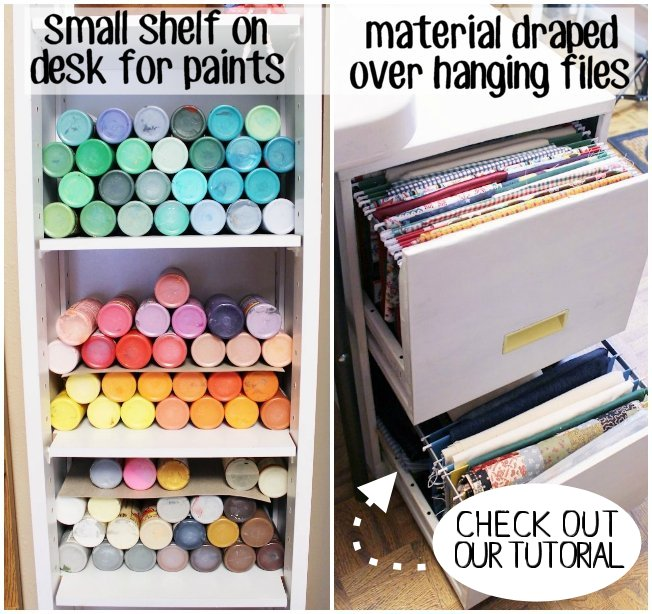 If You Need Some Creative Ideas For Craft Room Organization Look No Further!