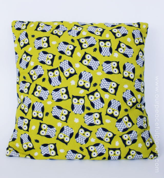 Easily create an inexpensive custom pillow cover in 10 minutes using fabric, felt and glue, that is both beautiful and unique using our free patterns. 6