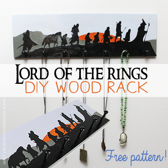Lord Of The Rings Coat Hanger