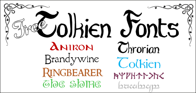 Download Tolkien Font - FREE Fonts To Download