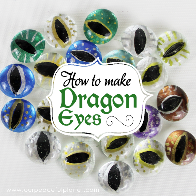 Easy Dragon Eyes Dragon Craft Our Peaceful Planet