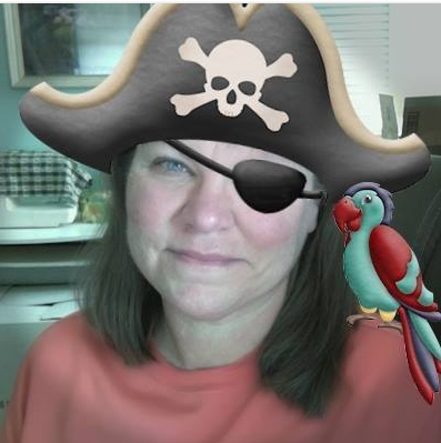 Nancy as a Pirate