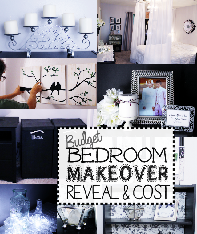 budget bedroom makeover reveal cost