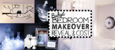 Budget Bedroom Makeover Reveal & Cost