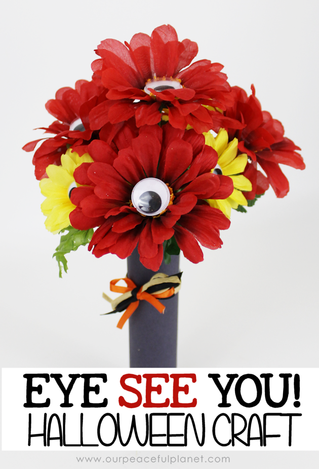 Eye See You! Easy Halloween Craft2c