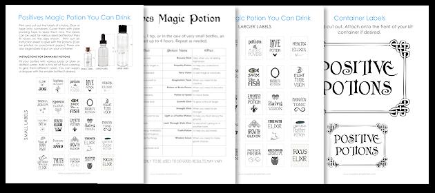 Positive Potions Kit Download