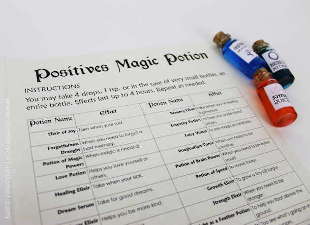 Positive Potions Kit - Drinkable 3