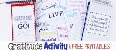 Gratitude On the Go! A Fun Gratitude Activity