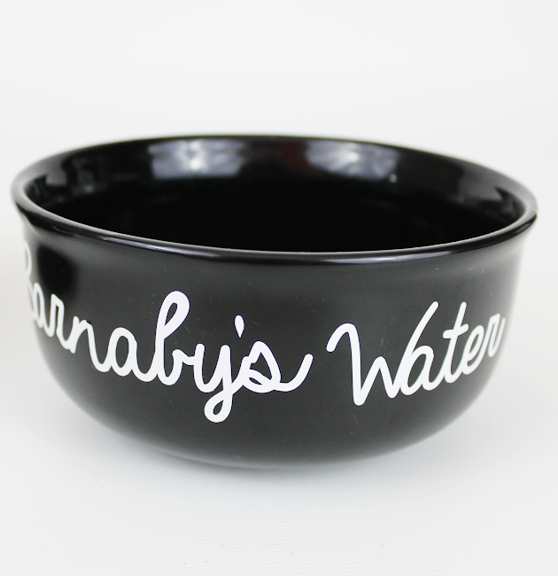 Personalized Dog Bowls SQ