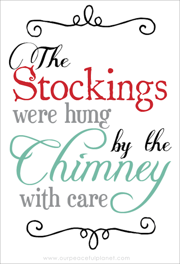 The Stockings Were Hung Quotation