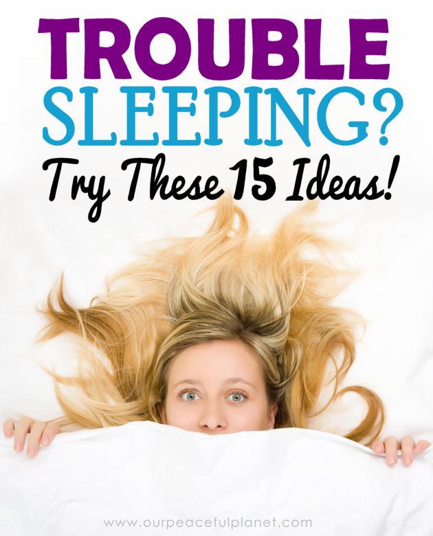 Bedtime should be something you look forward too and enjoy. If you have trouble sleeping we've got a list of unique suggestions ideas to help you out.