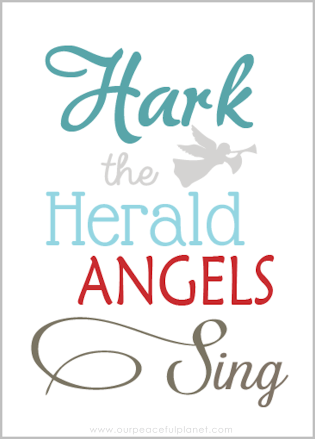 Hark the Herald Angels Sing Quote Quotation