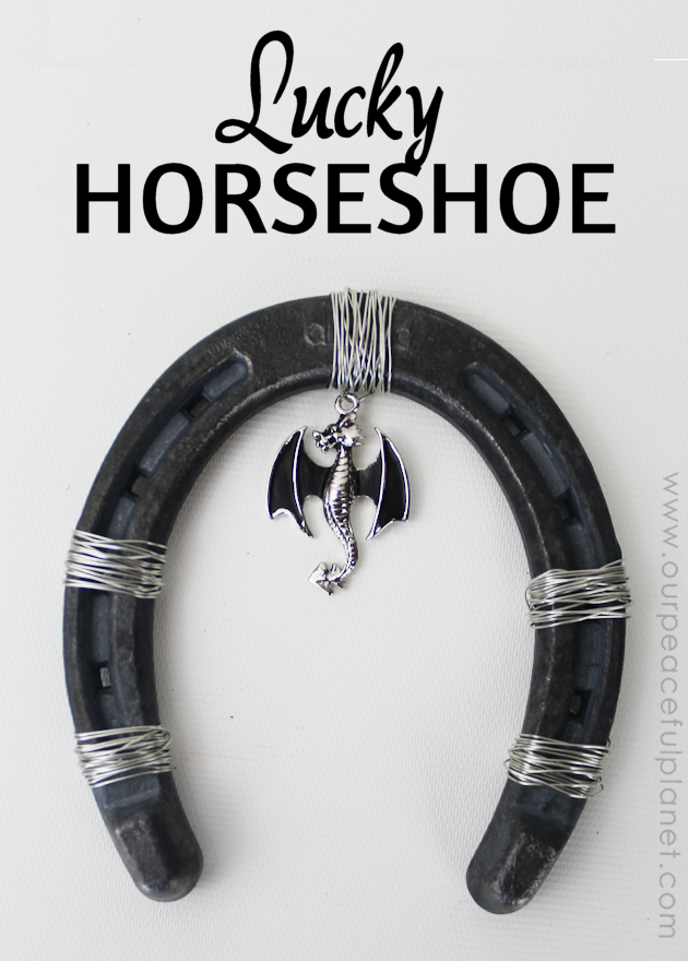 Diy Lucky Horseshoe Decor Our Peaceful Planet