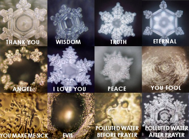 Masaru Emoto Water Words