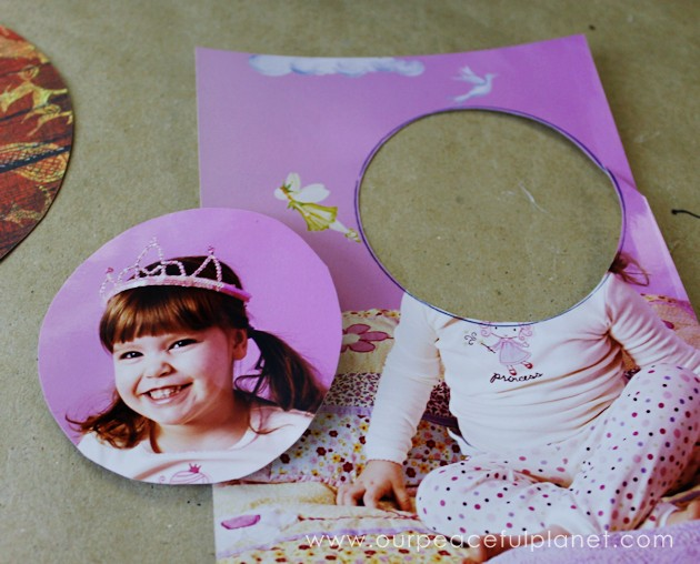 Make these pretty as a picture standing photos from old CDs or DVDs. Perfect for any occasion, its yet another upcycle idea from our CD crafts section!