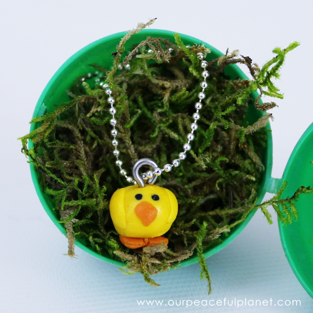 """A quick yet personal Easter Gift you can make for any age. These little chickadees are simple and inexpensive. """"Wrap"""" in a plastic egg for a personal touch!"""