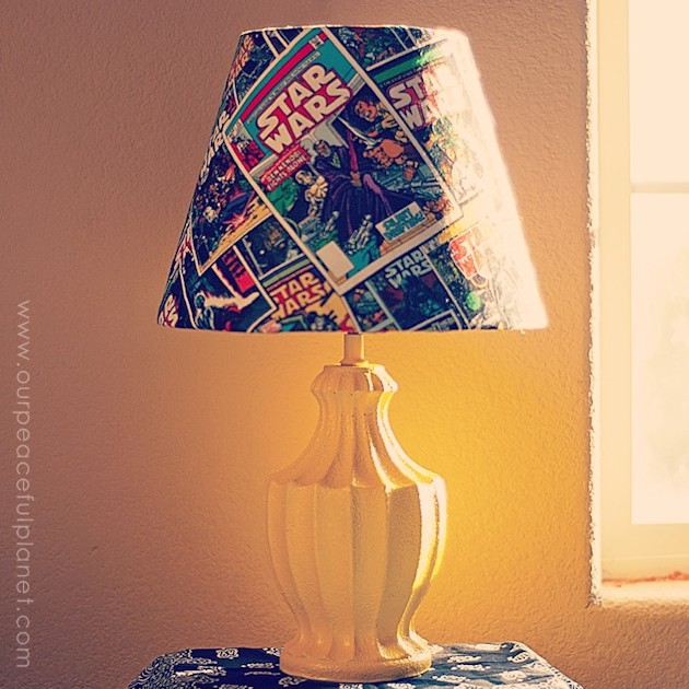 This Trendy Star Wars Lamp Is Easy To Make And Costs Very Little. All You