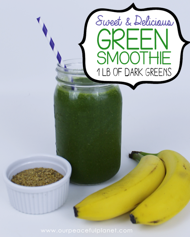 How To Drink A Pound Of Greens And Love It! Green Smoothie