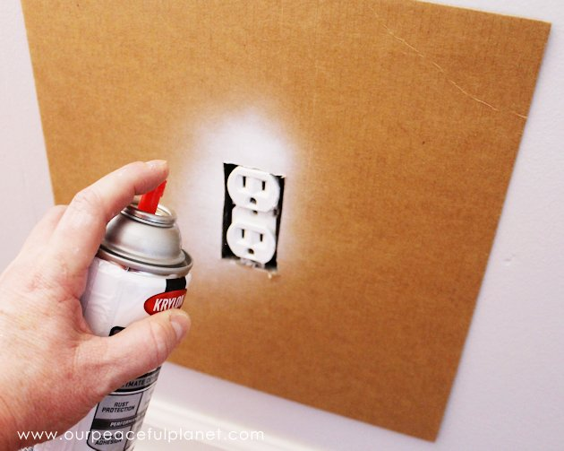 Save time and money by painting outlets rather than replacing them. If you've got wall outlets that don't match you'll love this quick and inexpensive fix!