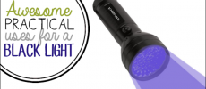Awesome Practical Uses for a Black Light Flashlight
