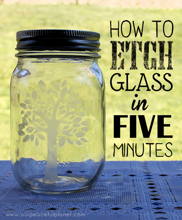 We'll show you how to etch glass and create beautiful designs on almost any type of glass in just a few minutes. You'll be surprised how easy it is!