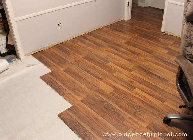 ... Almost Anyone Can Learn How To Install Laminate Flooring. Check Out Our  Step By Step ...