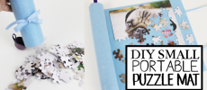 How to Make the Most Unique Small Puzzle Mat