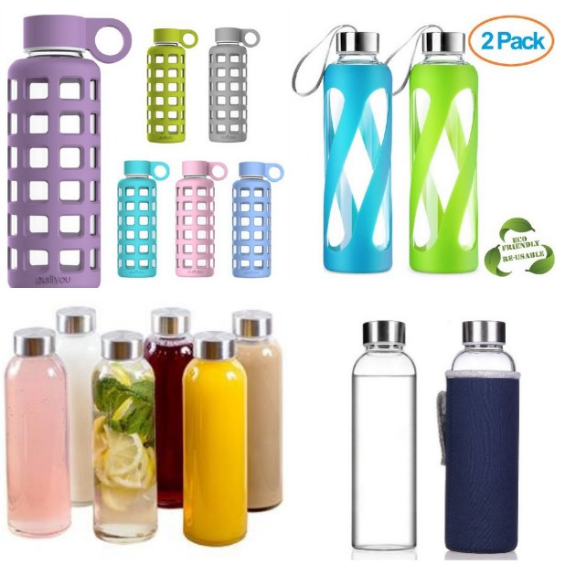 Learn the down and dirty about why glass water bottles are better for you and the dangers of using plastic to drink from our store food in. One word: BPA