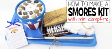 DIY Smores Kit with Mini Campfire