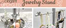 How to Make a Beautiful Classy Jewelry Stand