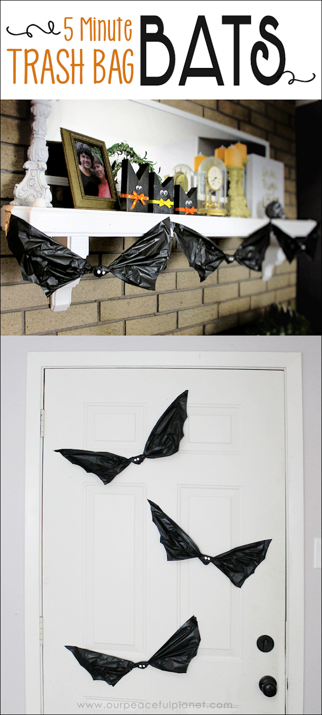 grab need quick low cost awesome looking halloween decorations go to your cupboard grab - Quick Halloween Decorations