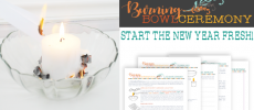 Start the New Year Fresh with a Burning Bowl Ceremony!